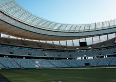 Stadium. Football Stadium in Cape Town, South Africa Stock Photos
