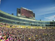 a stadium full of people during a match royalty free stock photos
