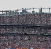 a stadium full of people outdoor royalty free stock image