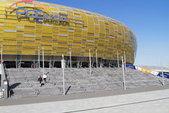 Stadium in Gdansk Stock Photos