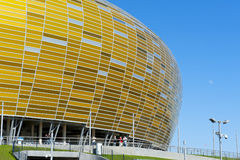 Stadium in Gdansk UEFA EURO 2012 Royalty Free Stock Image