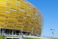 Stadium in Gdansk UEFA EURO 2012. GDANSK, POLAND - MAY 1: PGE Arena, New Stadium in Gdansk for UEFA EURO 2012, Gdansk, Poland, May 1, 2012 Royalty Free Stock Image