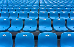Stadium grandstand Royalty Free Stock Photo