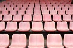 Stadium grandstand seats Stock Photos