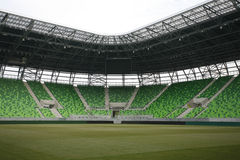 Stadium with grandstands Royalty Free Stock Images