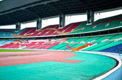 Stadium in guangzhou. The stadium for Soccer in Guangzhou,which is named the Olympic sports center stock photo