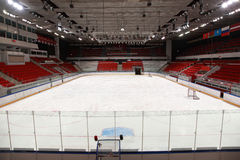 Stadium before  hockey match Stock Image