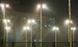 Stadium i sportów kompleksy obrazy stock