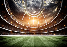 Stadium Royalty Free Stock Photo