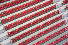 Stadium interior Royalty Free Stock Photography