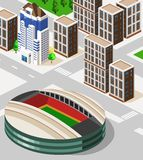 Stadium Isometric Stock Photo