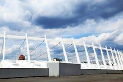 Stadium in Kyiv Royalty Free Stock Photo