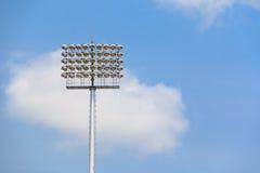 Stadium Lekcy słupy Obraz Stock