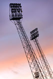 Stadium light Royalty Free Stock Photo