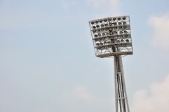 Stadium light Royalty Free Stock Photos