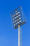 Stadium light on blue sky. The stadium light on blue sky Stock Photo