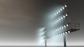 Stadium light Stock Images