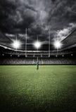 Stadium light at night Royalty Free Stock Photo