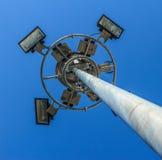 Stadium light pole Stock Photo