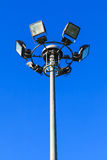 Stadium light pole Royalty Free Stock Photography