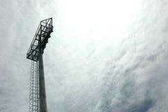 Stadium light poles Stock Photo