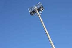 Stadium light poles Royalty Free Stock Photo