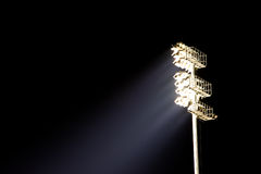 Stadium Light Stand Stock Photography