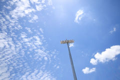 Stadium Light tower Royalty Free Stock Photography