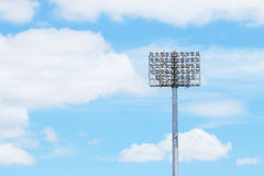 Stadium Light tower Royalty Free Stock Photography