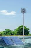 Stadium light tower Royalty Free Stock Photos