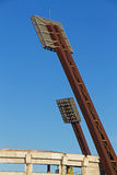 Stadium Light Towers Stock Images