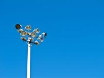 Stadium lighting Stock Images