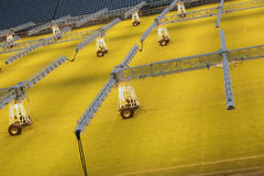 Stadium lighting Stock Photography