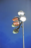 Stadium lighting. Royalty Free Stock Photos