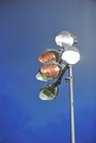 Stadium lighting. Royalty Free Stock Photos