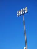 Stadium Lighting-Blue Sky Royalty Free Stock Photography