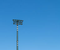 Stadium lighting Stock Image