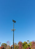 Stadium lighting Royalty Free Stock Images