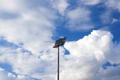 The stadium lighting Royalty Free Stock Photography
