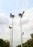 Stadium Lighting Royalty Free Stock Photo