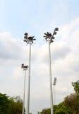 Stadium Lighting Royalty Free Stock Photo