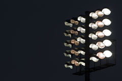 Stadium lights Stock Photo