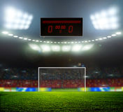 Stadium lights Royalty Free Stock Photos