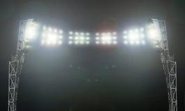 The stadium lights Stock Images