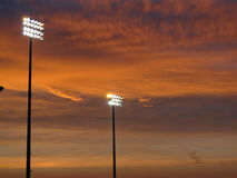 Stadium Lights Royalty Free Stock Images
