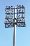 Stadium lights Stock Image