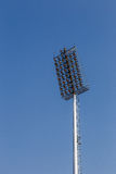 Stadium lights with blue sky background 2 Stock Images