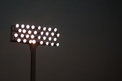Stadium Lights Stock Photography