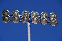 Stadium lights Royalty Free Stock Photo