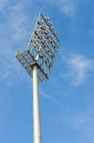 Stadium lights Stock Images